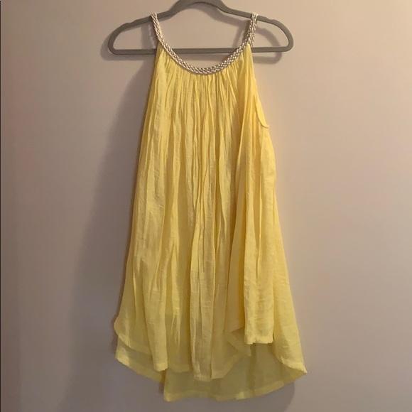 nouveaumonde Dresses & Skirts - Yellow swimsuit coverup/dress